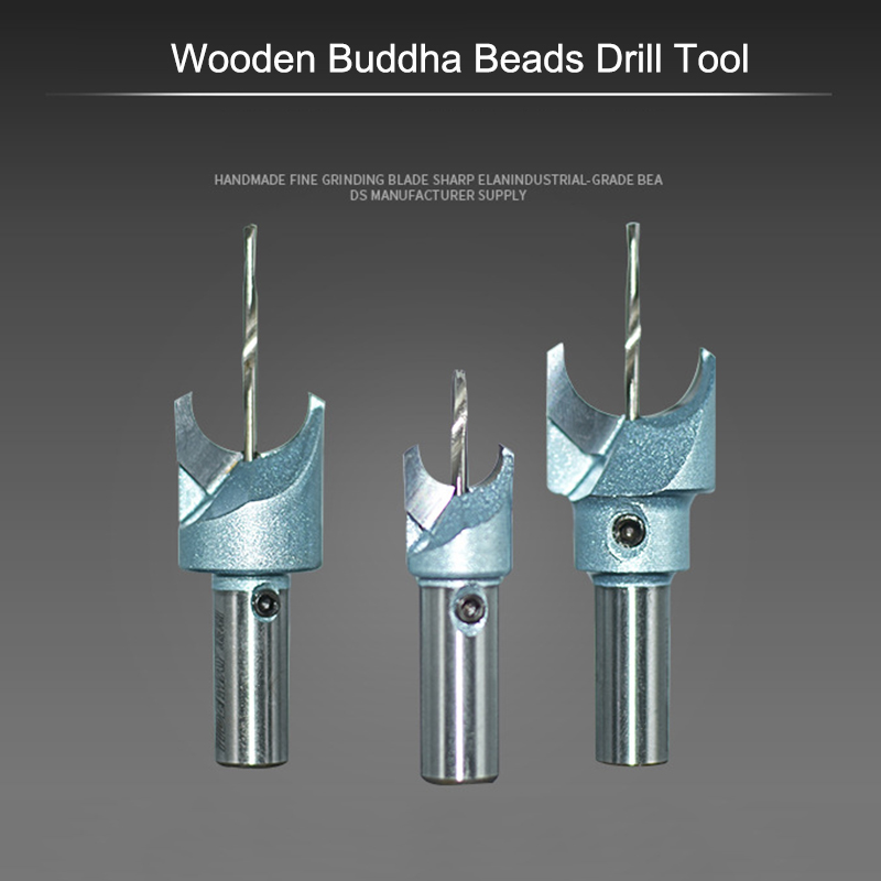 1 Pcs Hard Alloy Woodworking Router Bit Wooden Buddha Beads Balls Drill Tool TSH Shop
