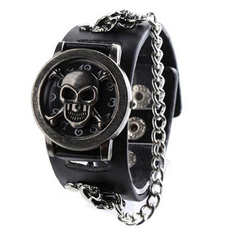 Mens Watch fashion Luxury Brand Hollow Clock Male Casual Sport Wristwatch Men Pirate Skull Style Quartz Watch Reloj Homber 2017 pagani design mens watch fashion luxury brand clock male casual sport wristwatch men pirate skull style quartz watch reloj hombe