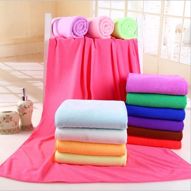 70x140cm Shower Towel Microfiber Fiber Washcloth Bath Drying Absorbent Printing