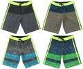 Мода 4способ Растянуть Beachshorts Boardshorts Мужские Быстро сухой Плюс Размер Бермуды Шорты Человек Полосатый Случайные Шорты Доска Шорты СЗТ