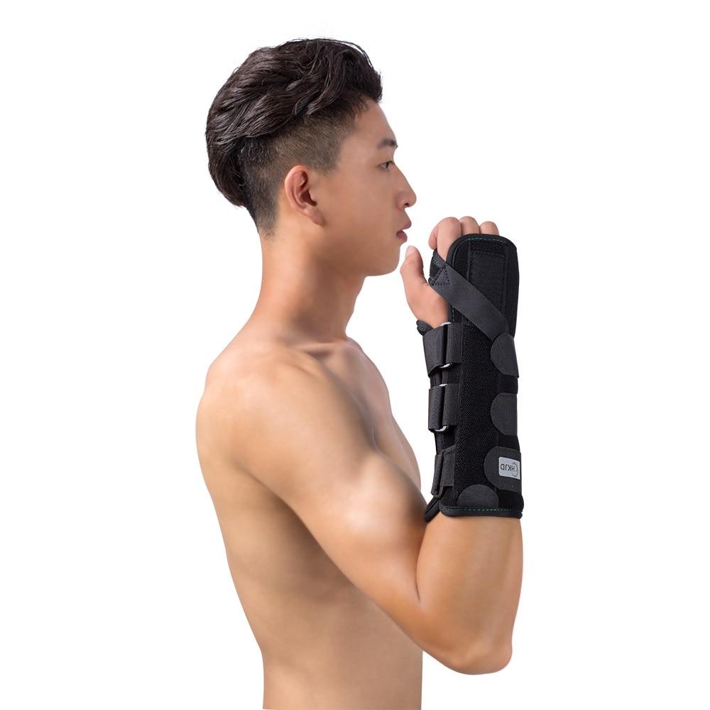 HKJD Wrist Thumb Support Brace Splint Finger Splint Support Finger for Arthritis Tendonitis Sprained Thumb Symptoms Broken