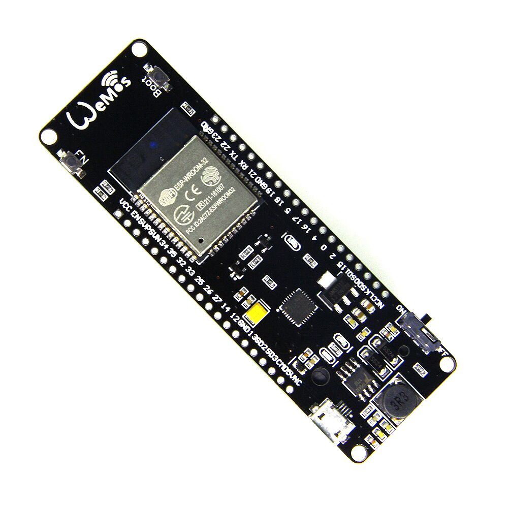 WiFi & Bluetooth Battery ESP32 rev1 (ESP-WROOM-32 ESP-32) development tool project esp32 x 8266 esp wroom 02 wifi