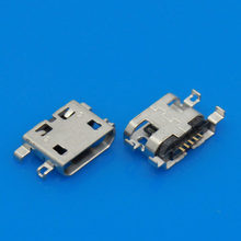 Mobile Phone Flex Cables 2Pcs Micro USB Charging Data Sync Power Jack Port Connector For Lenovo S6000/S6000F USB D1516 P0.11(China)