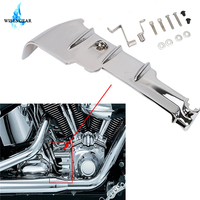 Chrome Cylinder Covers Rear Base Cover For Harley Touring Electra Street Glide Road King 2010 2016 Motorcycle Part Accessories
