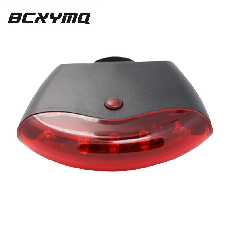 VTT Feux Arrière De Vélo Lumière Induction Intelligente UFO Sans Fil Entièrement Automatique De Frein Étanche Avertissement de Sécurité Lumière De Vélo 5LED dans Vélo lumière de Sports et loisirs
