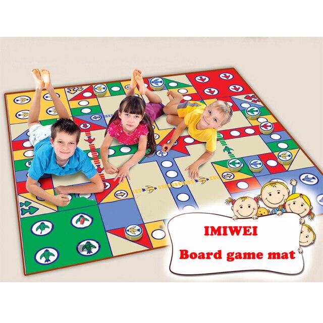 Tylko na zewnątrz Playmat maty do zabawy dla dzieci interaktywne mata do gry dla MF45