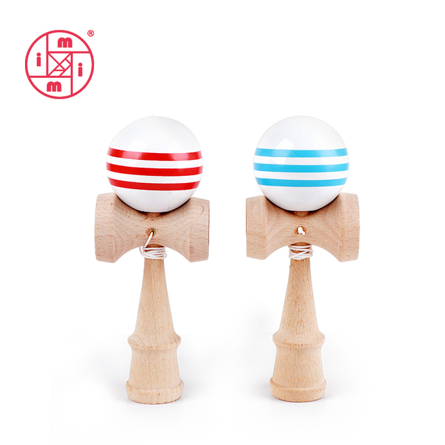 MITOYS Kendama 18.5 cm Wooden Toys Outdoor Sports Toy Balls Juggling Ball toy For Children Strings kendama professional Adult