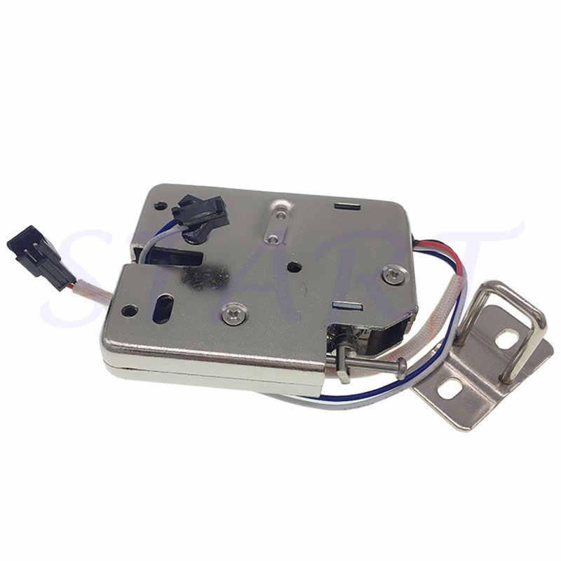 Nhỏ khóa điện từ DC 12V2A siêu thị thông minh khóa điện tử điều khiển truy cập điện khóa hộp thư khóa