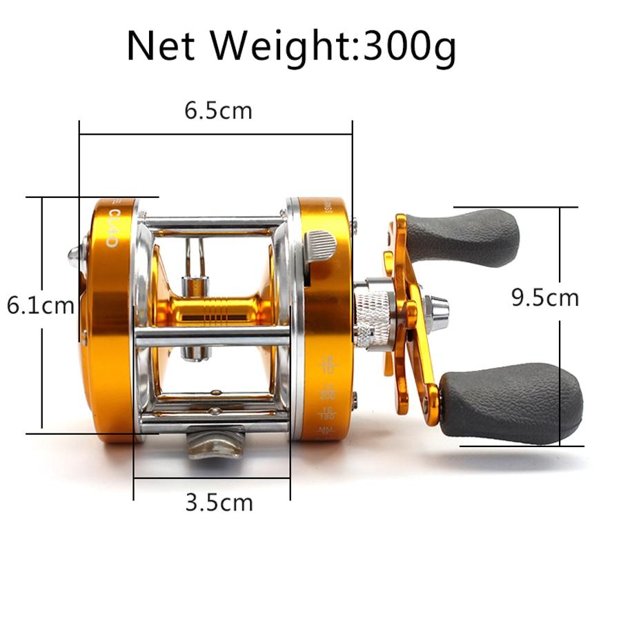 1 Spinning Reel Poder Lidar com Roda de Peixe Baixo