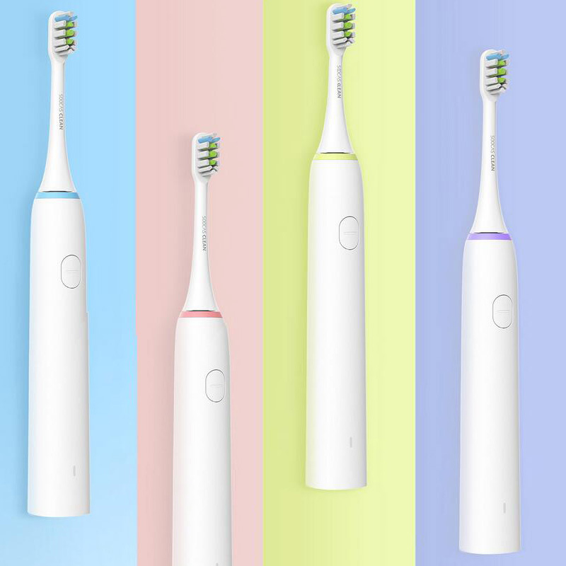 все цены на XIAOMI SOOCAS Sonic Electrical Intelligent Toothbrush Waterproof Rechargeable Sonic Ultrasonic Toothbrush Dental Health Care Z35