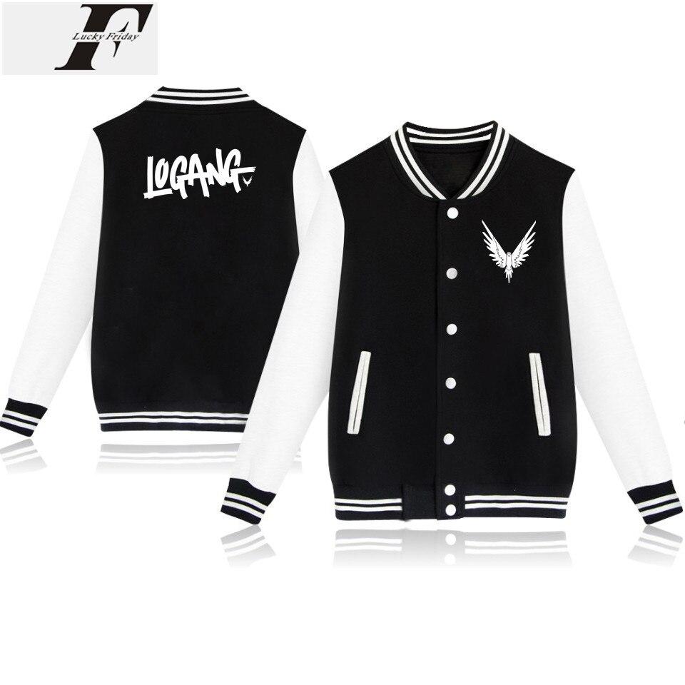 Fashion Style Logan Paul Baseball Jackets Men/Women Good Style Outwear Coat Classic Movie Casual Winter Jacket Men Streetwear
