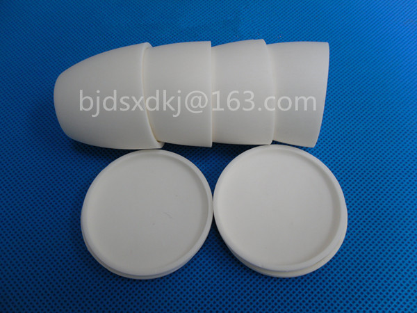 99.3% alumina crucible / 25ml / with lids / Arc-Shaped / corundum crucible / Al2O3 ceramic crucible / Sintered crucible цена