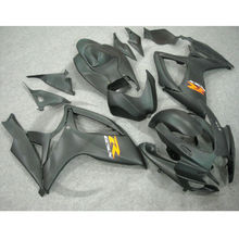 Matte Black ABS Plastic Fairing Bodywork For SUZUKI GSXR 600 750 06-07 K6 22A