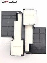 2PCX ОРИГИНАЛЬНЫЙ Чернильница Отходов Губки для Epson L300 L301 L303 L351 L350 L353 L358 L355 L111 L110 L210 L211 ME101 ME303 ME401