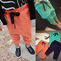 cotton knitted cropped trousers kids pants Boys Girls Casual Pants Kids Sports trousers Harem pants Hot