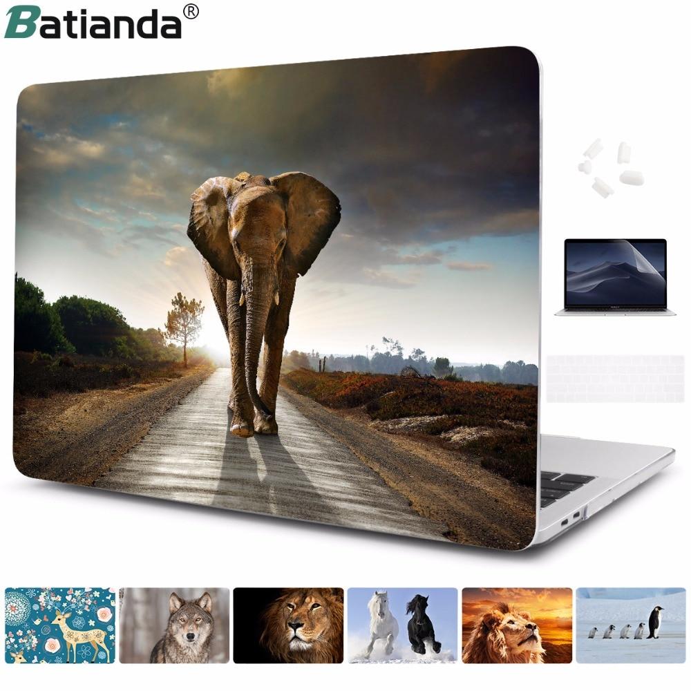 2017 Чехол для нового MacBook Pro Retina 13 15 дюймов 2016 Case Touch Bar A1706 A1707 Ноутбук Защитный чехол для Air 11 12 13.3