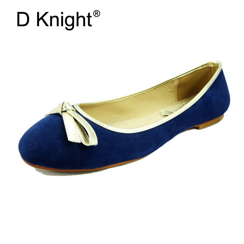 Fashion Bow Shallow Mouth Slip-on Women Flats Ladies Casual Flat Ballet Shoes Female Leisure Ballerinas Size 34-43 Shoes Woman drfargo spring summer ladies shoes ballet flats women flat shoes woman ballerinas pointed toe sapato womens waved edge loafer
