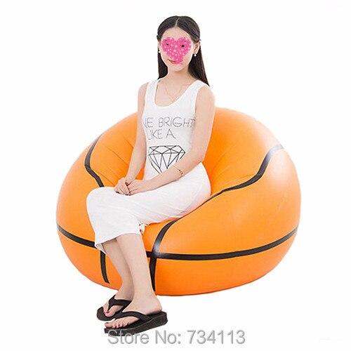 Basketball Fashion Inflatable Sofa Adult Football Self Bean Bag Chair  Portable Outdoor Garden Sofa Living Room