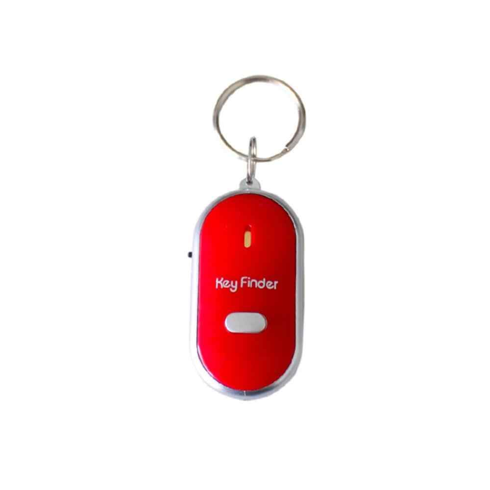 Sensores de Whistle Key Finder Anti-lost Chaveiro Rastreador inteligente LEVOU Com o Apito Localizador de Palmas