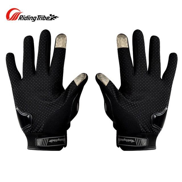 Luvas de motocicleta com toque sensível a tela, luvas de moto queiro guantes 3