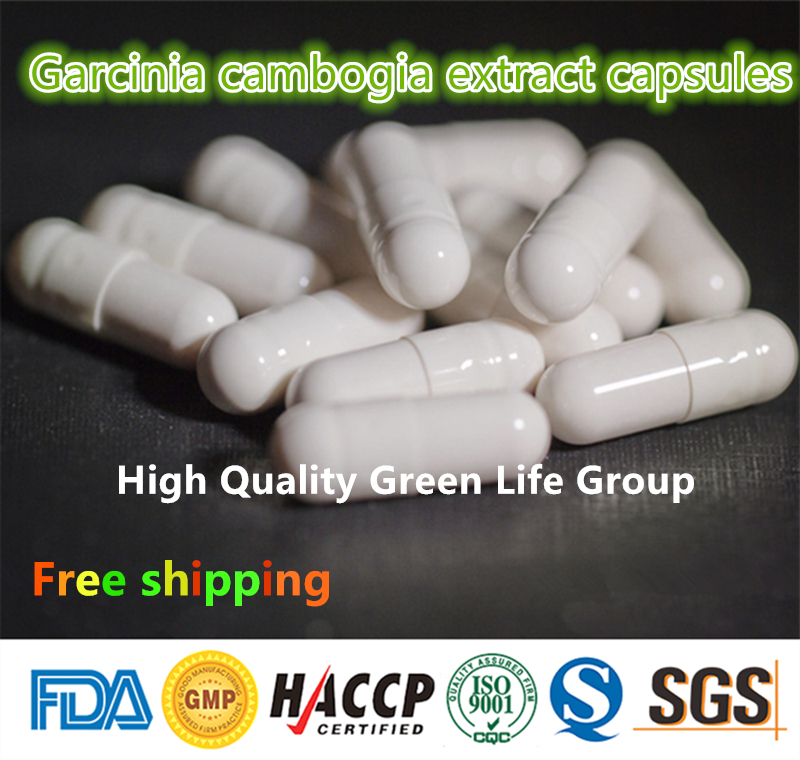 GMP Certified 100pcs Garcinia Cambogia Extract Capsules 75% HCA Diet Pills Fat...