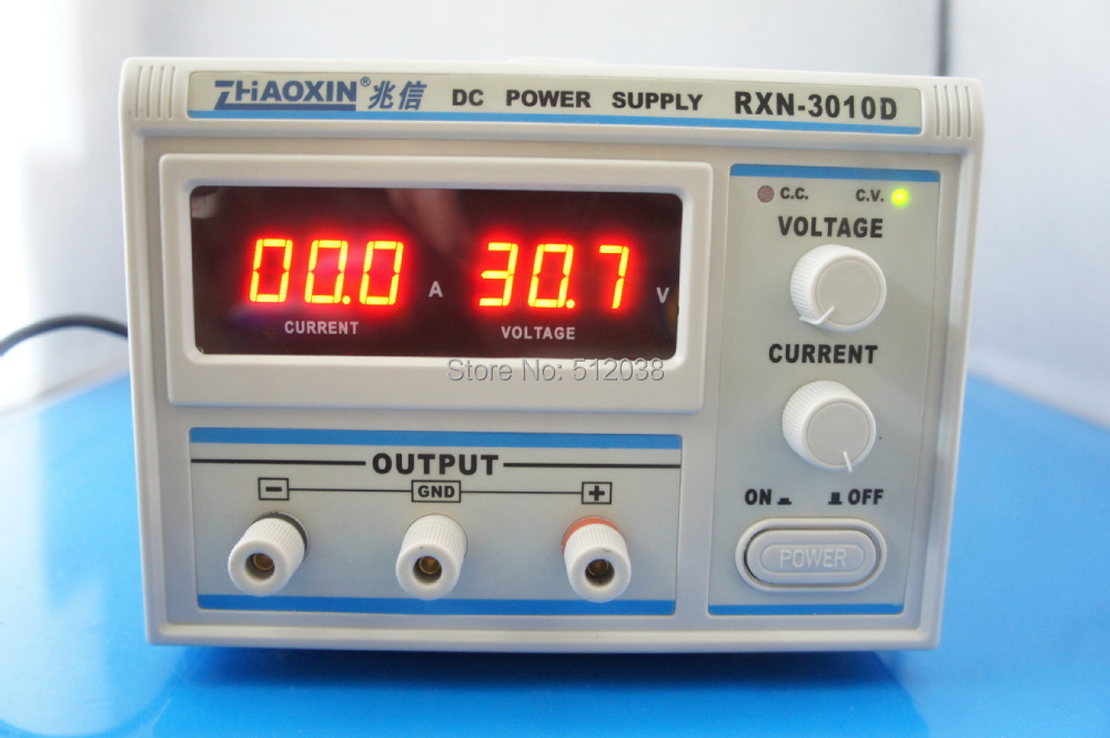 цена на RXN-3010D Variable 0~30V 0~10A Lab Grade Linear Adjustable DC Power Supply