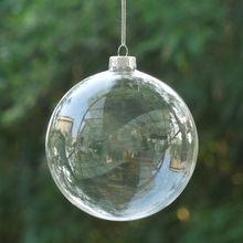 Transparante Glazen Kerstballen-Koop Goedkope Transparante Glazen ...