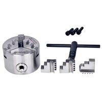 Mandril auto-centralização 80mm 100m 125mm 130mm 160mm 165mm 200mm 250mm 320mm mm mm 3jaw metal torno mandril cnc metalurgia