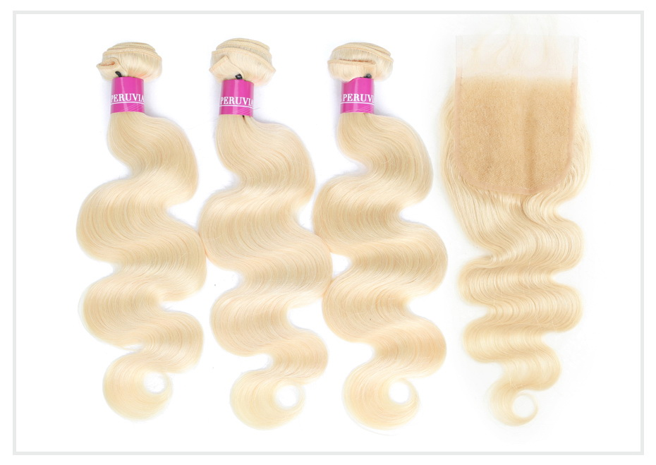 Blonde Bundles with 5x5 Closure (2)