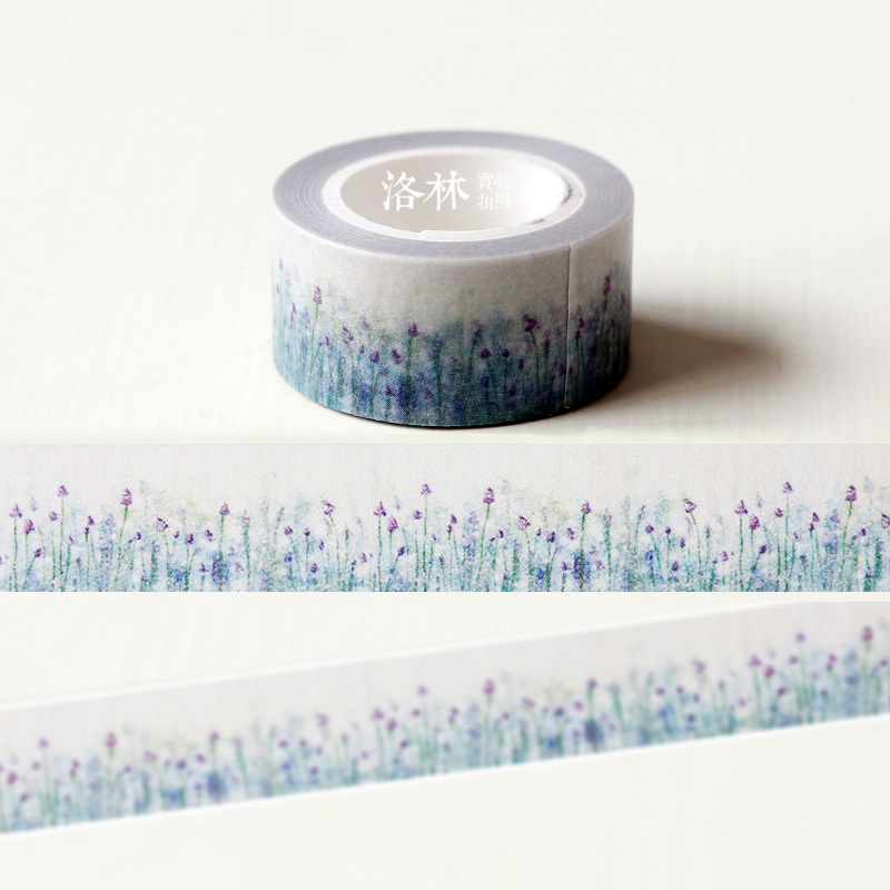 New arrival paper tape diy tape dream lavender 2cmx10m befriend adhesive tape washi tape