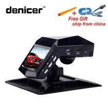 Denicer Новатэк 96658 автомобильный Регистраторы с духами Full HD 1296 P Видеорегистраторы для автомобилей Камера 2 «ЖК-дисплей видео регистратор автомобиль Ночное видение регистраторы