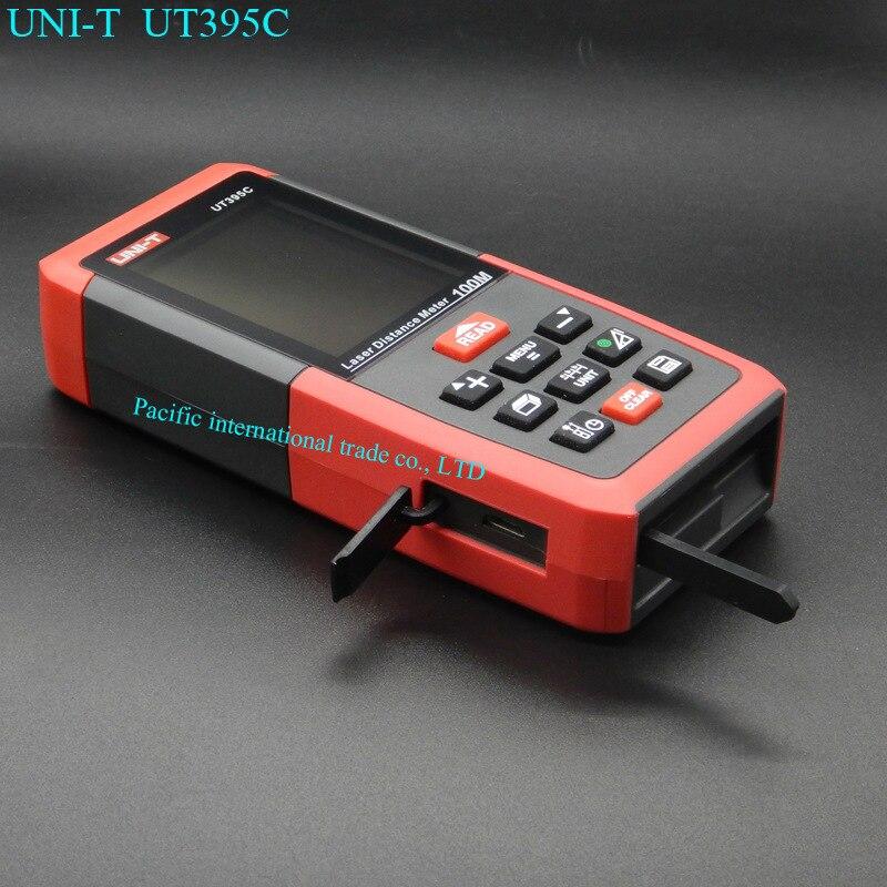 Лазерный дальномер профессионального лазерного дальномера метров UNI-T UT395C 100 м цифровой дальномер измерения Площадь/Объем Инструмент