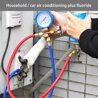 R22 Refrigerant Household Air Conditioning Fluoride Adding Tool Kit Car Air Conditioning Freon Common Cool Gas Meter