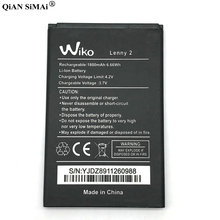 2019 New Battery For Wiko Lenny 2 Lenny2 3.7V 1800mAh High Quality Mobi