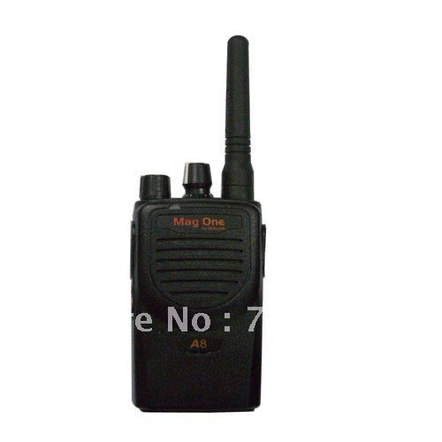 Long Standby & Latest Hot Selling MOTOLA Mag One A8 Walkie Talkie Interphone Two Way Radio 16CH Transceiver