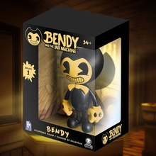 Bendy Figure Bendy and the Ink Machine figure Bendy Yellow Edition (Online Exclusive) Vinyl Action Figure with Box цена 2017