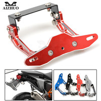 Motorcycle License Number Plate Holder for bmw r nine t s1000r s1000rr f800r r1200rt yamaha r1 2004 2005 2006 2007 08 2009 2015