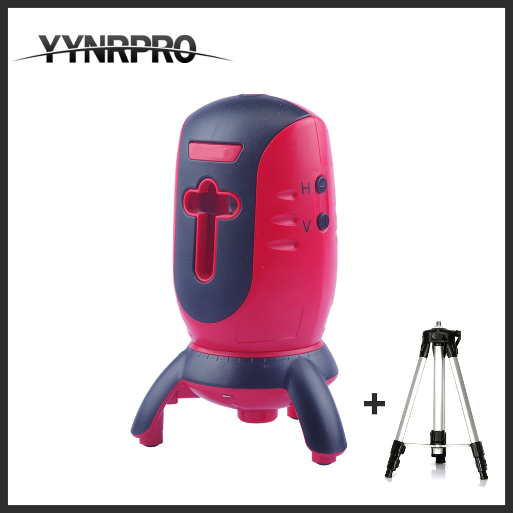 YYNRPRO NEW SERIES Laser Level 360 Vertical & Horizontal Rotary Cross Laser Line Leveling with tripod box packing free shipping highly visible line laser kapro 810 with vertical and horizontal vials