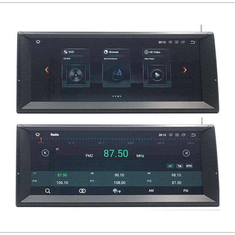ZOYOSKII Android 8.0 8.1 10.25 pouces VOITURE Radio GPS bluetooth lecteur de Navigation pour BMW 5 série E39 E53 X5