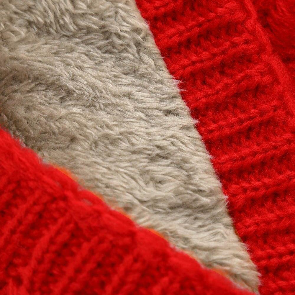 Fashion Winter Scarf For Women Men Warm Children Scarves Wool Collar Boys Girls Cotton Neck Scarf Thickened @35