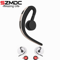 SZMDC Handsfree Business Bluetooth Headphone With Mic Voice Control Wireless Bluetooth Headset For Drive Noise Cancelling