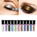 Single Roller Bright Colorful Eyeshadow Glitter Pigment Loose Powder Shimmer Eye Shadow Makeup