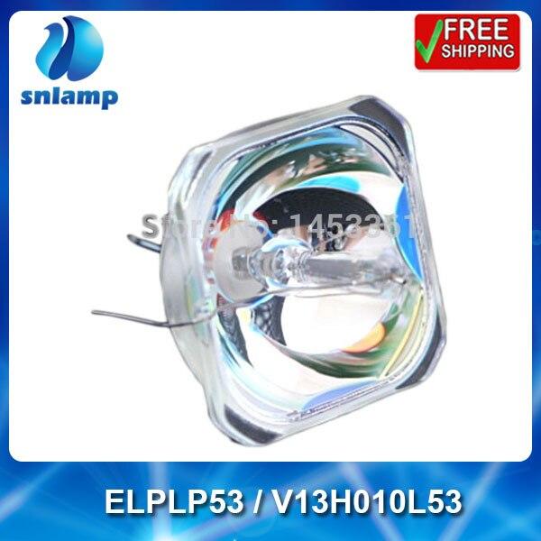 Original ELPLP53/ V13H010L53 projector bare mercury lamp bulb for EB-1830 / EB-1900 / EB-1915 / EB-1920W / EB-1925W projector lamp module elplp53 v13h010l53 for eb 1830 eb 1900 eb 1910 eb 1915 projector