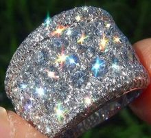 Fashion Big 925 Sterling Silver AAA CZ Zircon Stone Rings for Women Wedding Engagement Jewelry Rings недорого