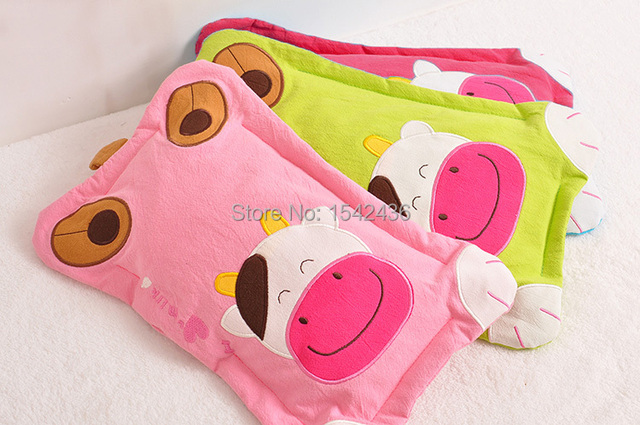 Pure Cotton Soft 0 3 Old Children Pillow High Quality Baby