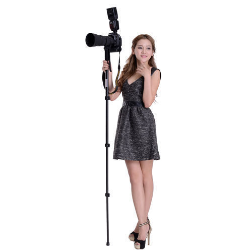 "outdoor Lightweight 62"" Camera Monopod Portable Aluminum alloy For Canon Nikon DSLR 1003"