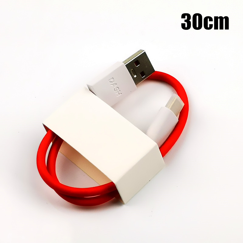 Image 4 - Original OnePlus 6 Dash Charger Cable 30cm/100cm/200cm red 4A Fast Charge Data Cable For One plus 6t 5t 5 3t 3 Mobile Phone-in Mobile Phone Cables from Cellphones & Telecommunications