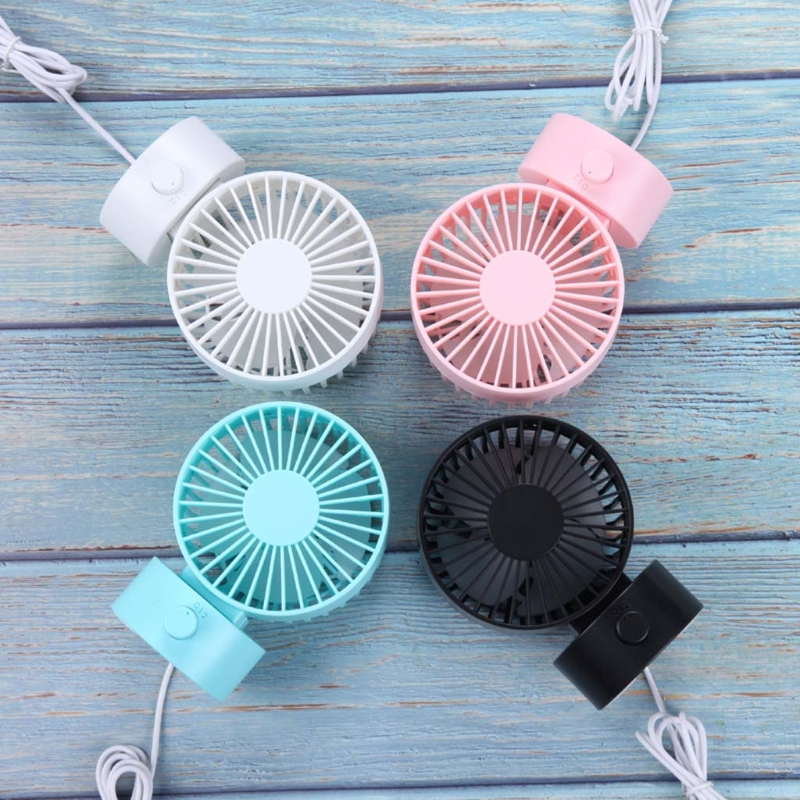 Portable Double-vane Usb Desk Fan Cooler For Home Office Pc Laptop Powerbank Household Appliances Home Appliances