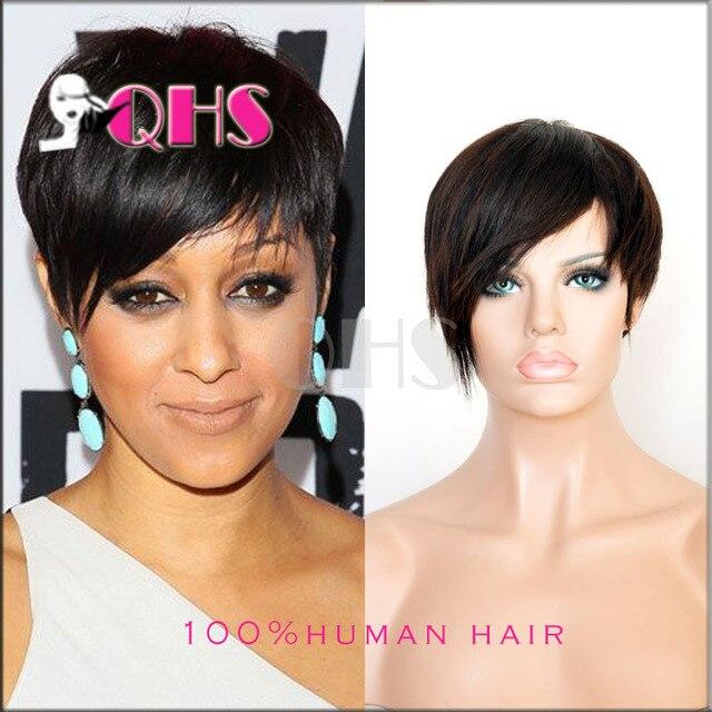 New Pixie Cut short human hair lace wigs