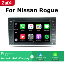 ZaiXi 2Din For Nissan Rogue S 2008~2015 Car Android Radio Multimedia Player GPS Navigation IPS Screen HiFi WiFi BT